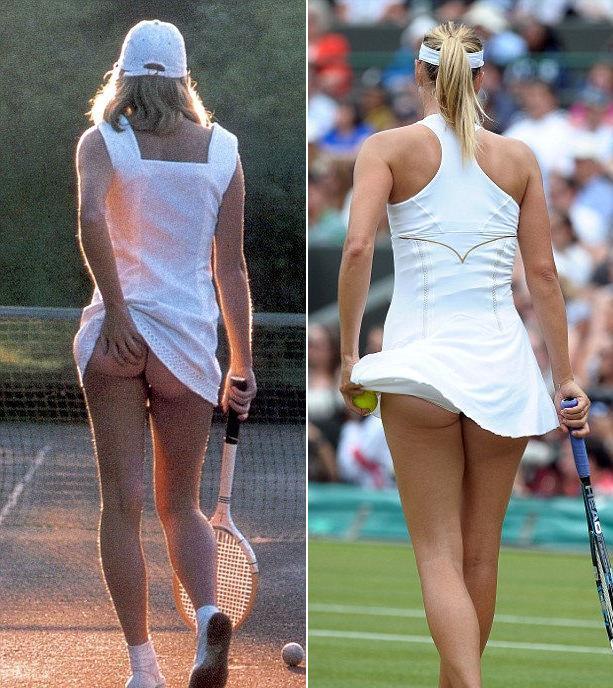 юбка оказалась французской у короткая теннисистки слишком