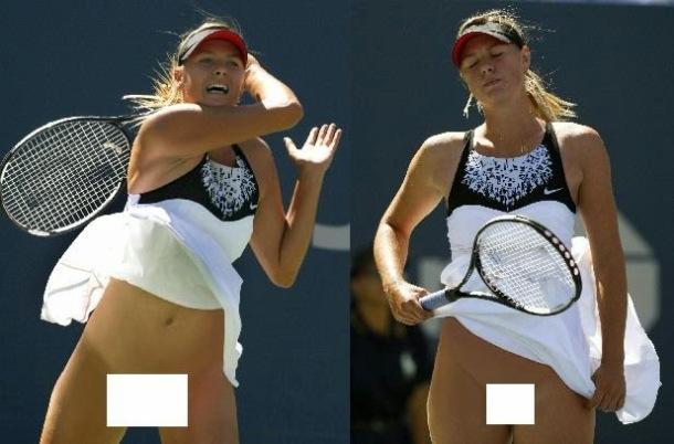 Tennis maria sharapova panties advise you